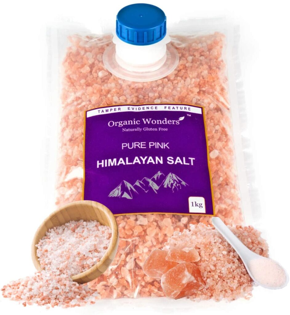 100% Natural Premium Course Pure Pink Himalayan Salt 1kg