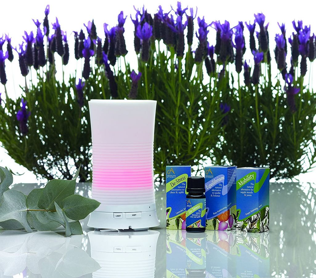Absolute Aromas Aroma-Mist Essential Oil Ultrasonic Diffuser