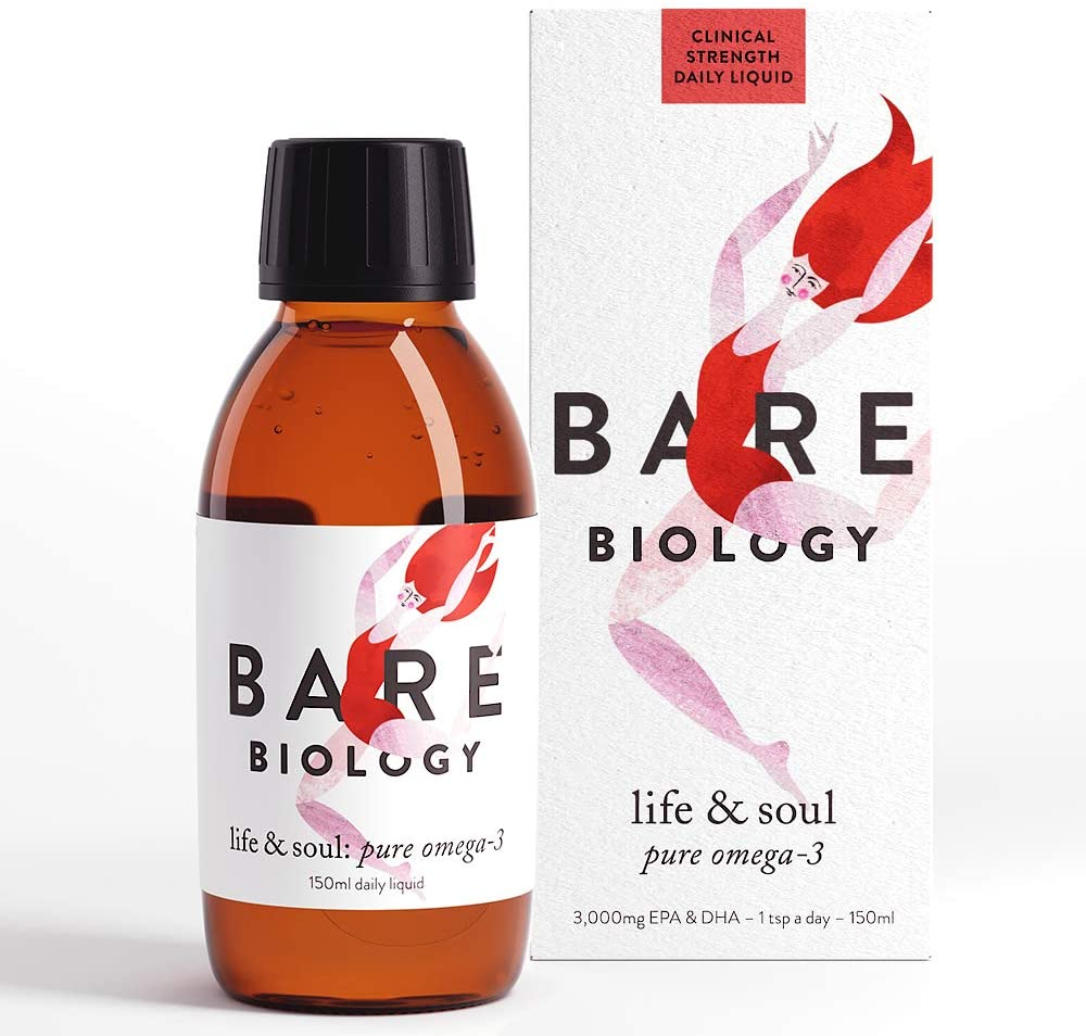 Bare Biology Life and Soul Pure Omega 3 Liquid 150ml