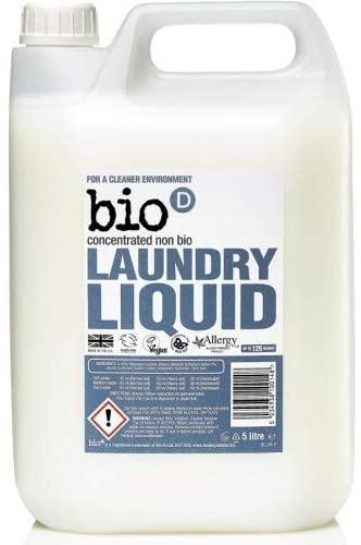 Bio D Concentrated Non Bio Laundry Liquid 5 Litre