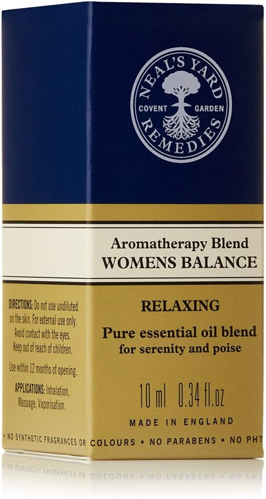 Neal's Yard Aromatherapy Blend Womens Balance Relaxing Oil 10ml