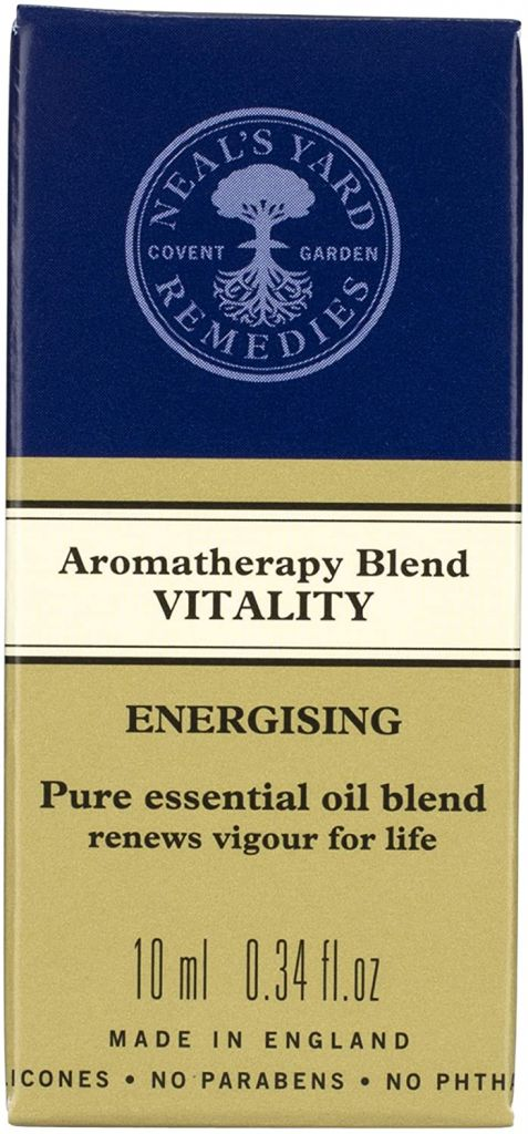 Neal's Yard Aromatherapy Vitality Blend Essential Energising Oil 10ml