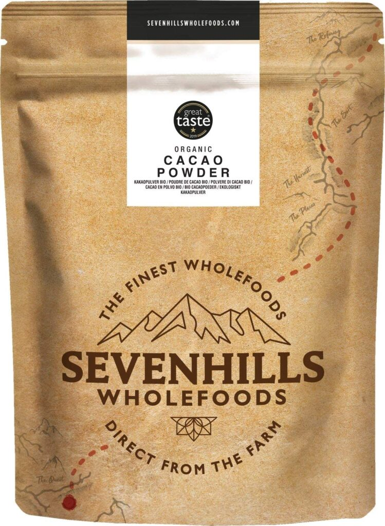 Sevenhills Wholefoods Organic Cacao Powder 1kg