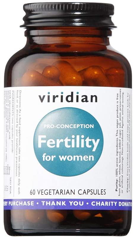 Viridian Pro Conception Fertility For Women Capsules