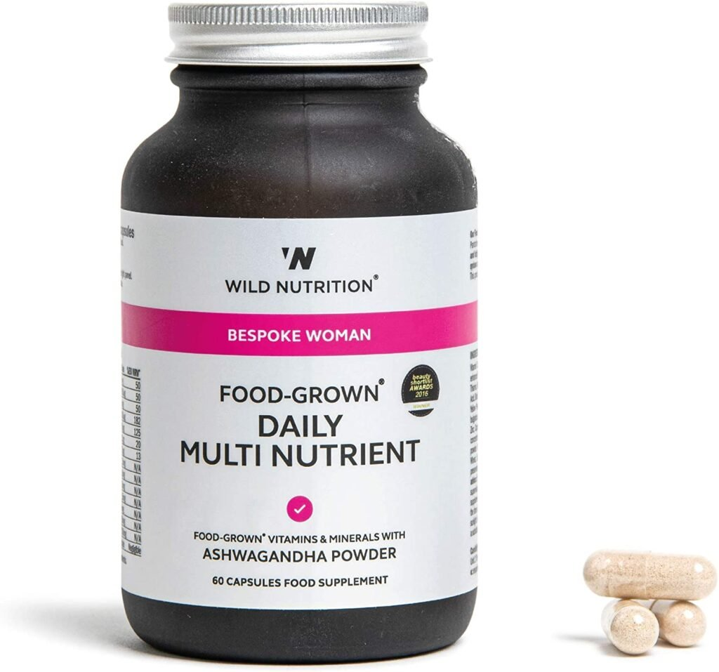 Wild Nutrition Bespoke Woman Food Grown Daily Multi Nutrient