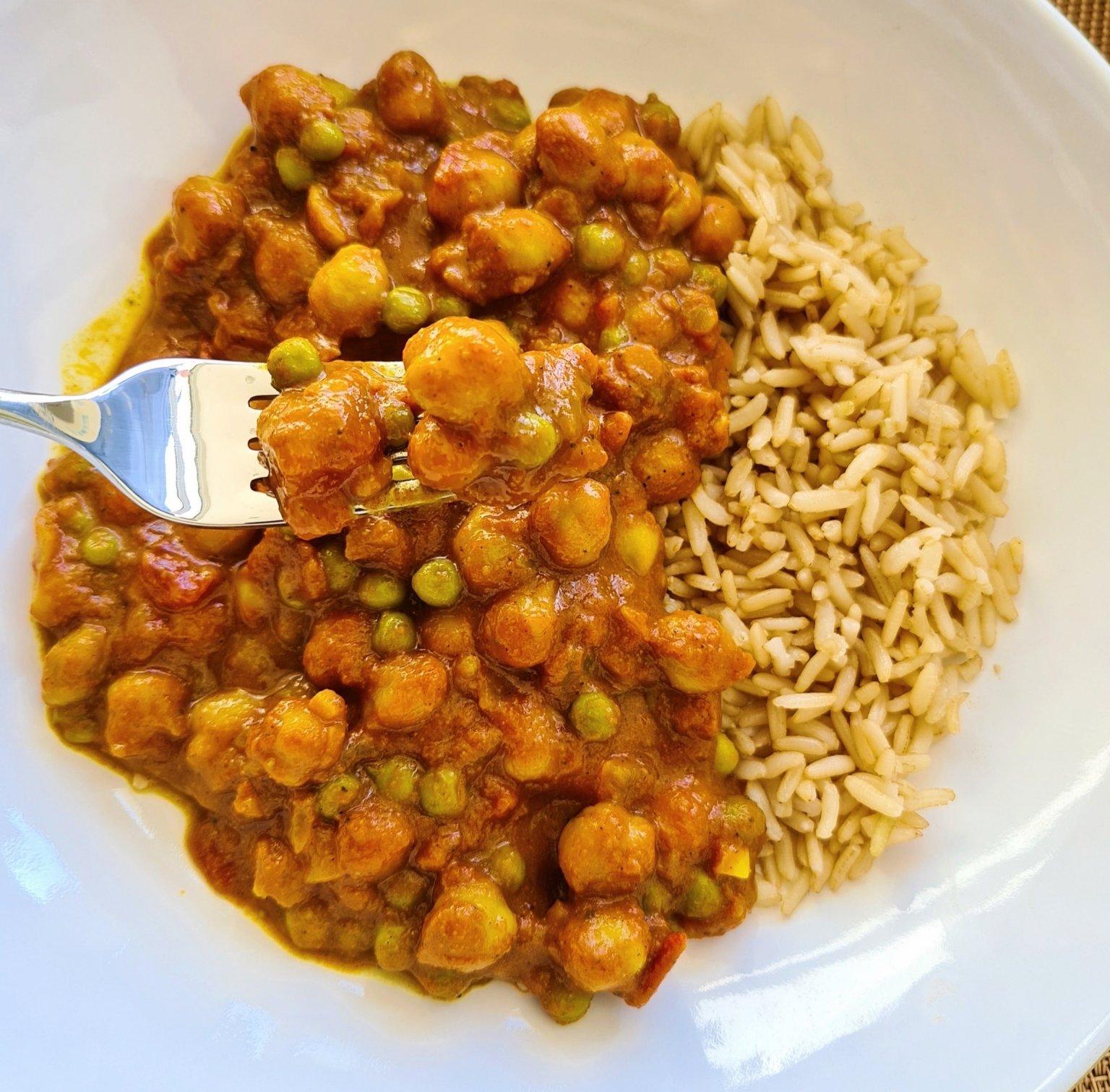 Vegan Cupboard Essentials Curry